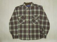 70's PENDLETON ウールシャツ/S〜M(リサイズ)