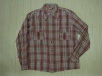 50's ALARD コットン ボックスシャツ