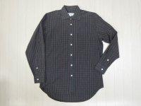 90's LE PORTEUR チェックシャツ/M