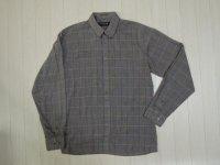 〜90's SASSON チェックBDシャツ/S