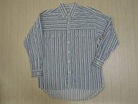 〜90's BASIC ストライプシャツ/M
