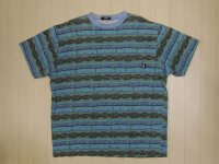 80's stussy Tシャツ/黒タグ-USA製/L