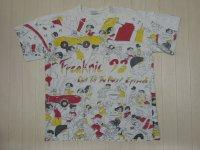 90's IMPACT 総柄Tシャツ/Freaknic'93/XL