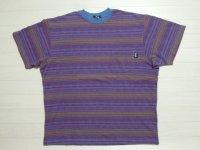 80's stussy Tシャツ/黒タグ-USA製/XL
