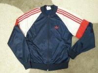 80's adidas USA製ジャージ/XS〜S