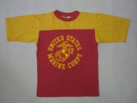 〜70's ARTEX フットボールTシャツ/ミリタリー/S