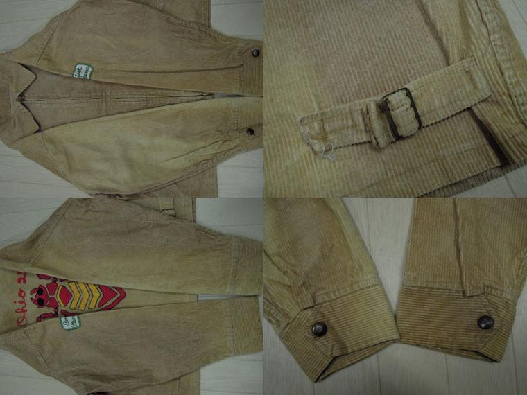 画像4: 〜60's Unknown コーデュロイジャケット/チェーン刺繍