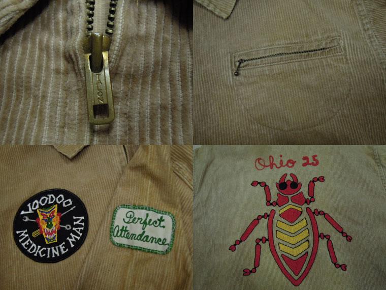 画像3: 〜60's Unknown コーデュロイジャケット/チェーン刺繍