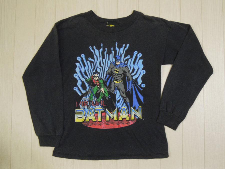 画像1: BATMAN キッズ長袖Tシャツ/