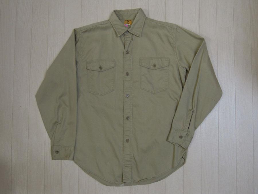 画像1: 〜60's CAN'T BUST EM コットンシャツ/マチ付