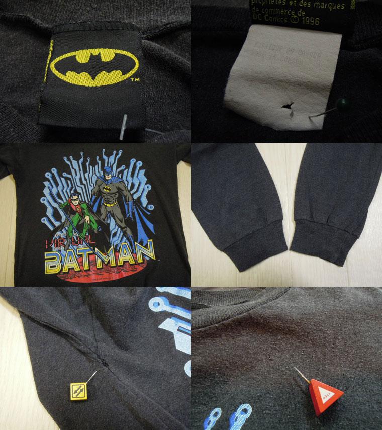 画像3: BATMAN キッズ長袖Tシャツ/