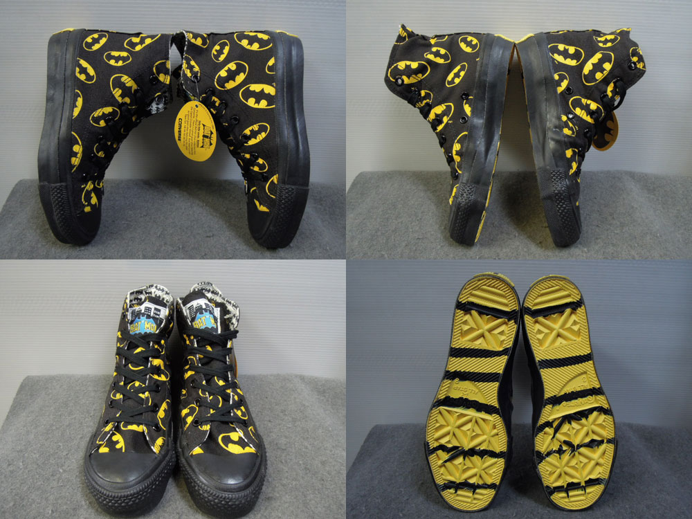 画像2: 80's CONVERSE ALL STAR/BAT MAN-USA製-箱付DEAD STOCK/3