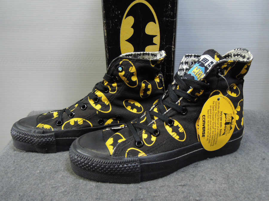 画像1: 80's CONVERSE ALL STAR/BAT MAN-USA製-箱付DEAD STOCK/3