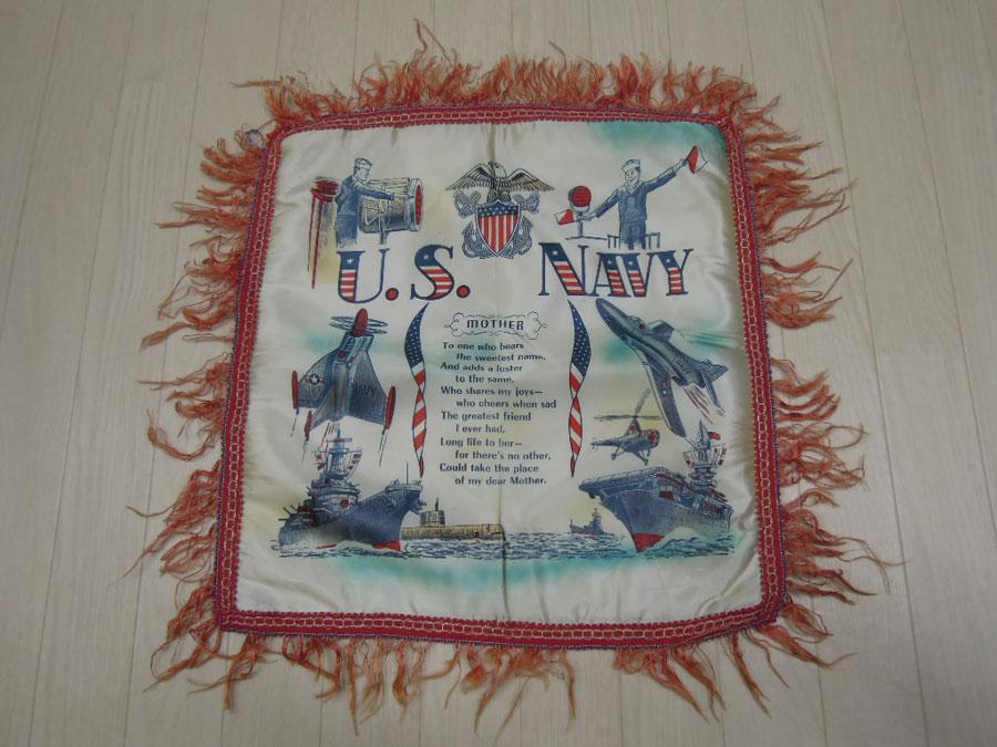 画像1: 〜50's US NAVY クッションカバー