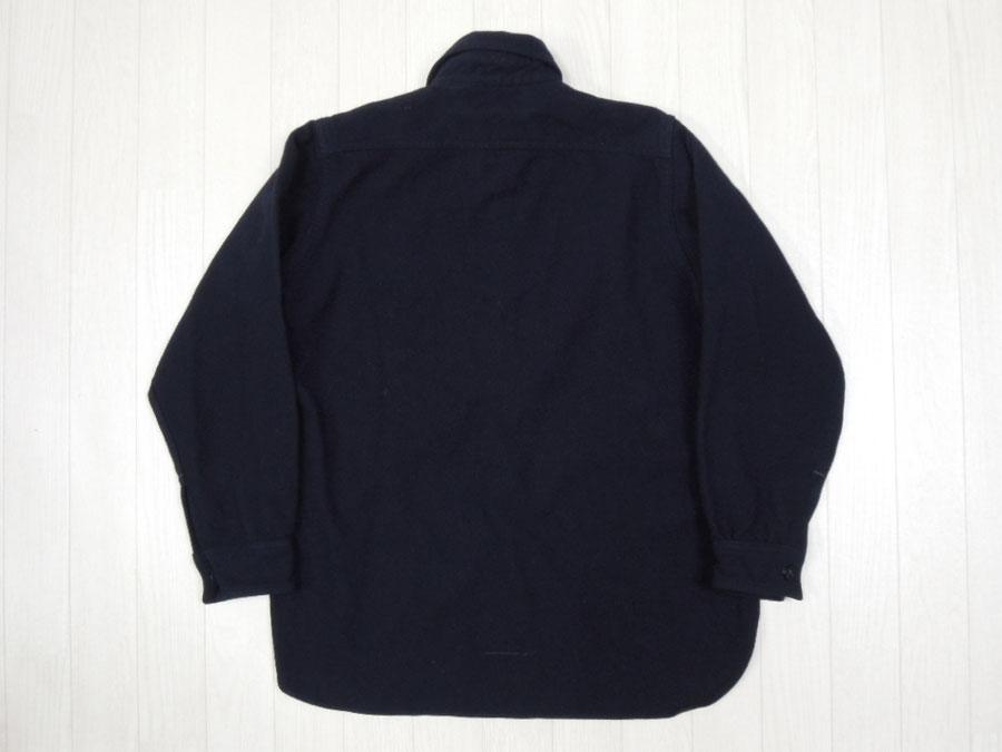 画像2: 40's US NAVY ウールCPOシャツ/片ポケット