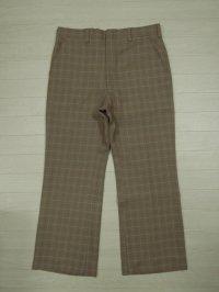 70's HAGGAR チェックパンツ/W33