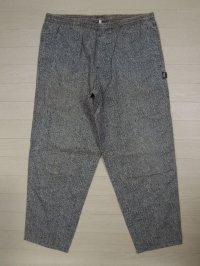 80's STUSSY イージーパンツ/黒タグ-USA製/M