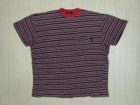 80's stussy Tシャツ/黒タグ-USA製/S