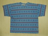 80's BOLT ボーダーTシャツ/L