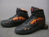 80's adidas CITY LINE Hi/珍色黒ベース/5