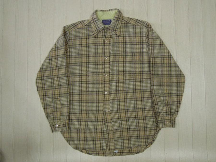 画像1: 70's PENDLETON ウールシャツ/M