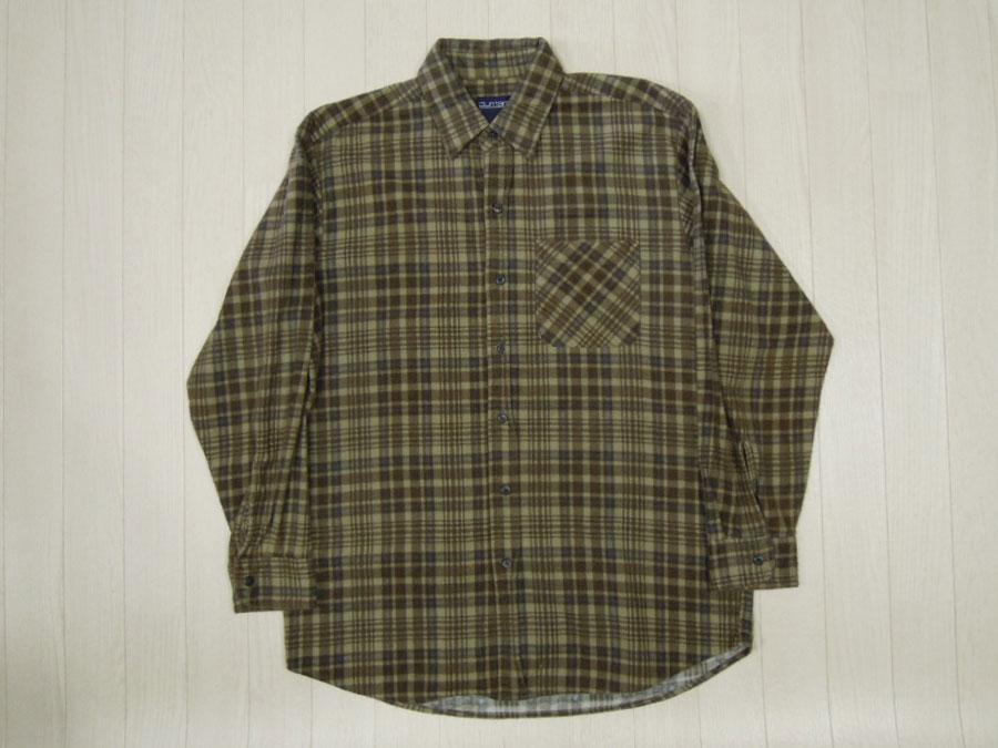 画像1: 〜90's PURITAN ネルシャツ/M