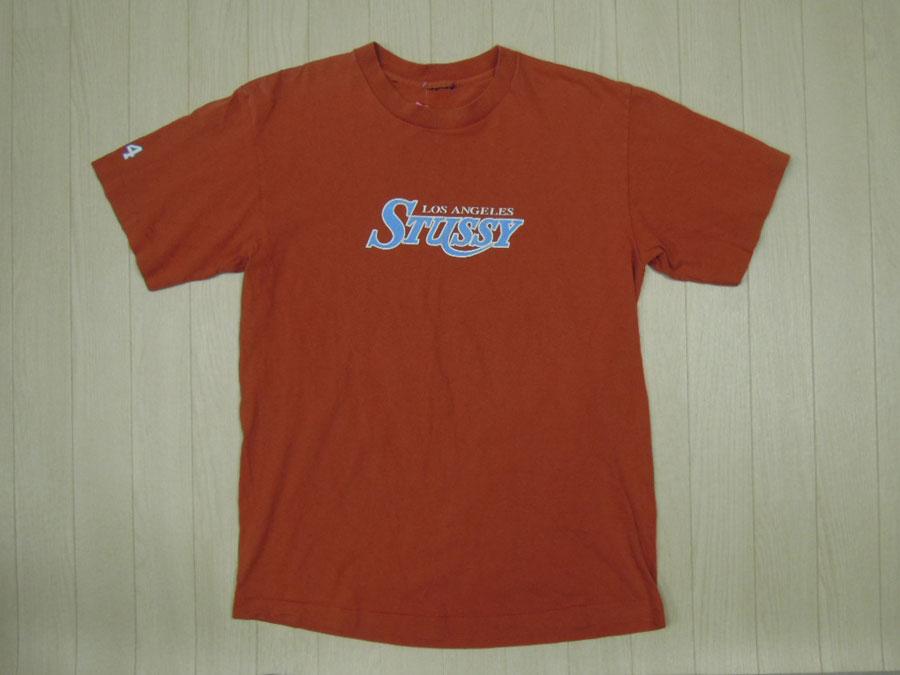 画像1: 〜00's stussy Tシャツ/M〜L