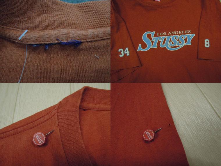 画像3: 〜00's stussy Tシャツ/M〜L