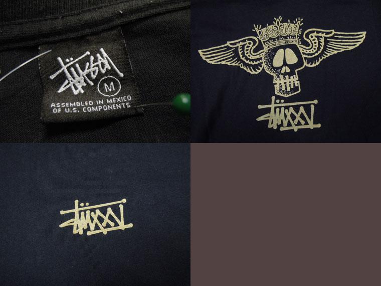 画像3: 〜00's stussy Tシャツ/M