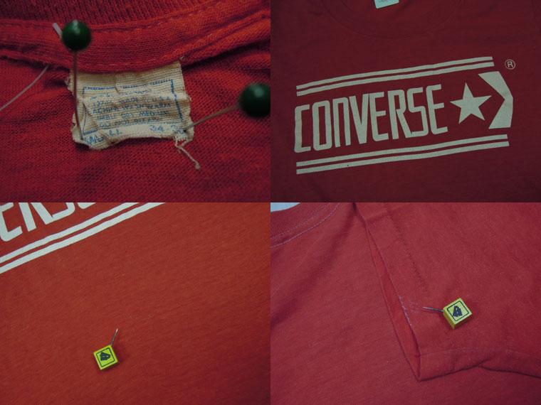 画像3: 〜80's CONVERSE Tシャツ/USA製/S