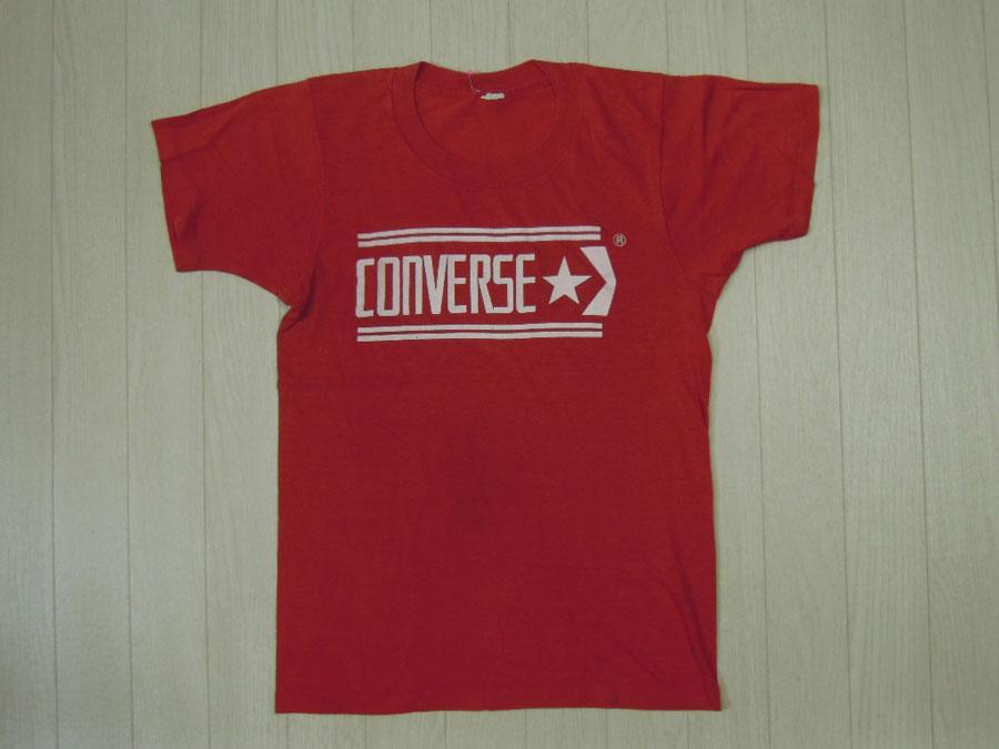 画像1: 〜80's CONVERSE Tシャツ/USA製/S