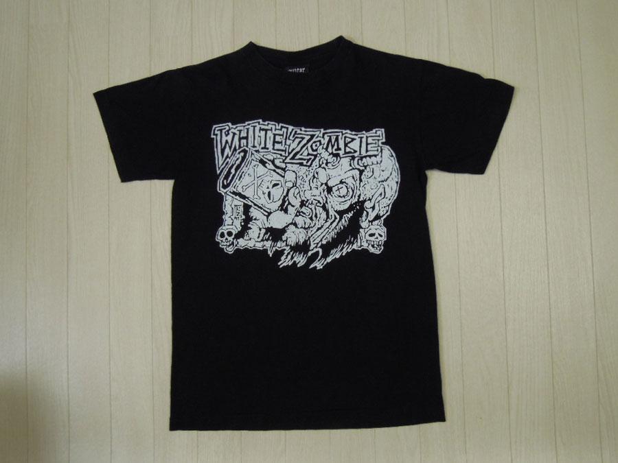 画像1: WHITE ZOMBIE Tシャツ/M