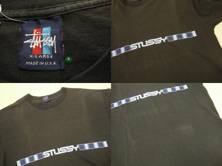 画像3: 〜00's stussy Tシャツ/USA製/XL