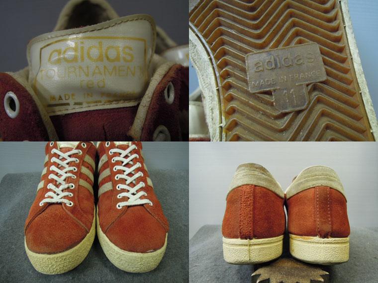 画像3: 70's adidas TOURNAMENT RED/FRANCE製/11