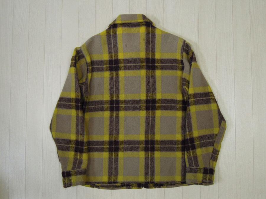 画像2: 〜50's BOSTWICK ウールジャケット/コの字ZIP