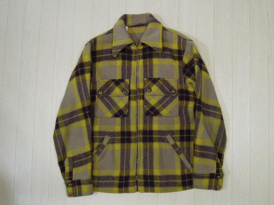 画像1: 〜50's BOSTWICK ウールジャケット/コの字ZIP