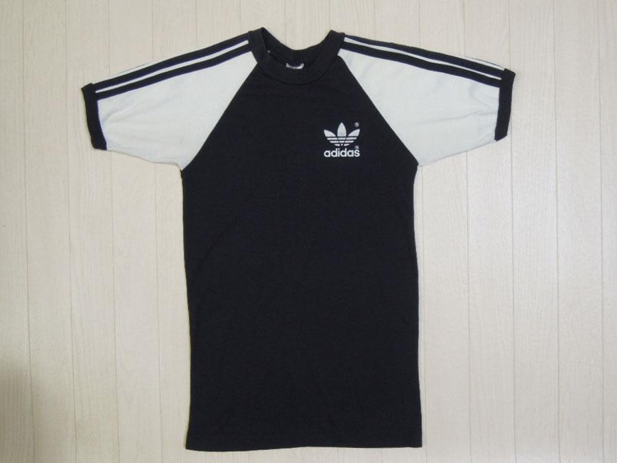 画像1: 80's adidas Tシャツ/USA製/S