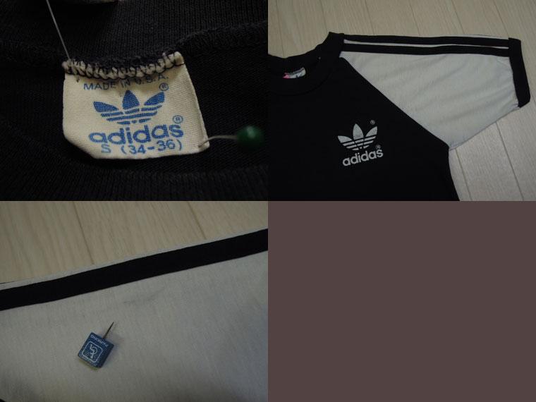 画像3: 80's adidas Tシャツ/USA製/S