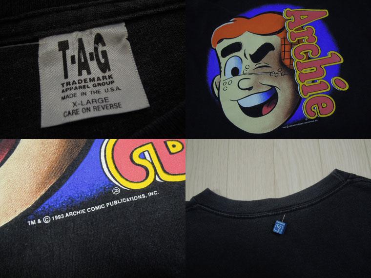 画像3: 90's T.A.G Tシャツ/XL