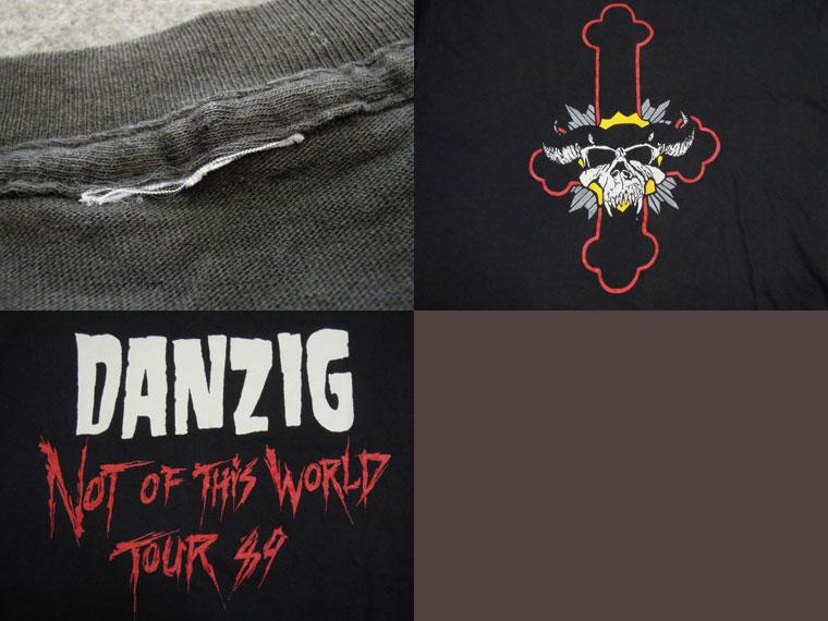 画像3: 80's DANZIG Tシャツ/L
