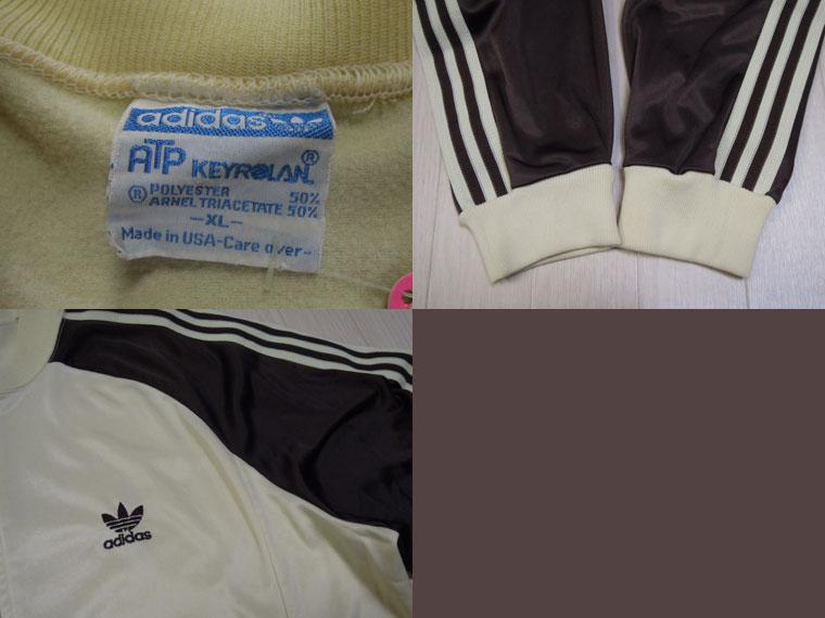 画像3: 80's adidas ジャージ/USA製ATP/XL