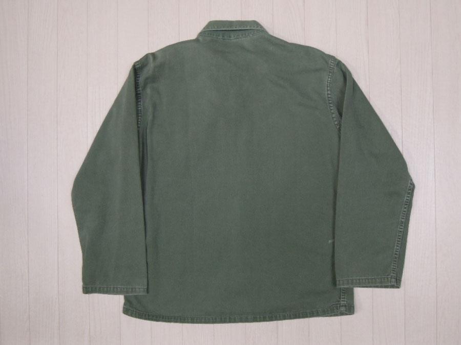 画像2: 〜70's US ARMY ミリタリーシャツ/M