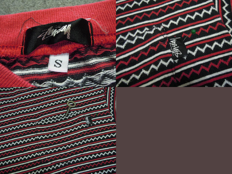 画像3: 80's stussy Tシャツ/黒タグ-USA製/S