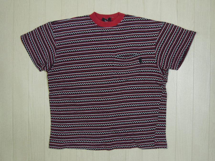 画像1: 80's stussy Tシャツ/黒タグ-USA製/S