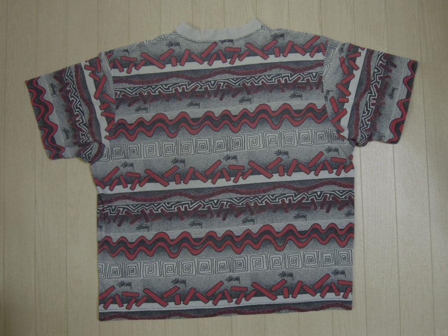 画像2: 80's stussy Tシャツ/黒タグ-USA製/L