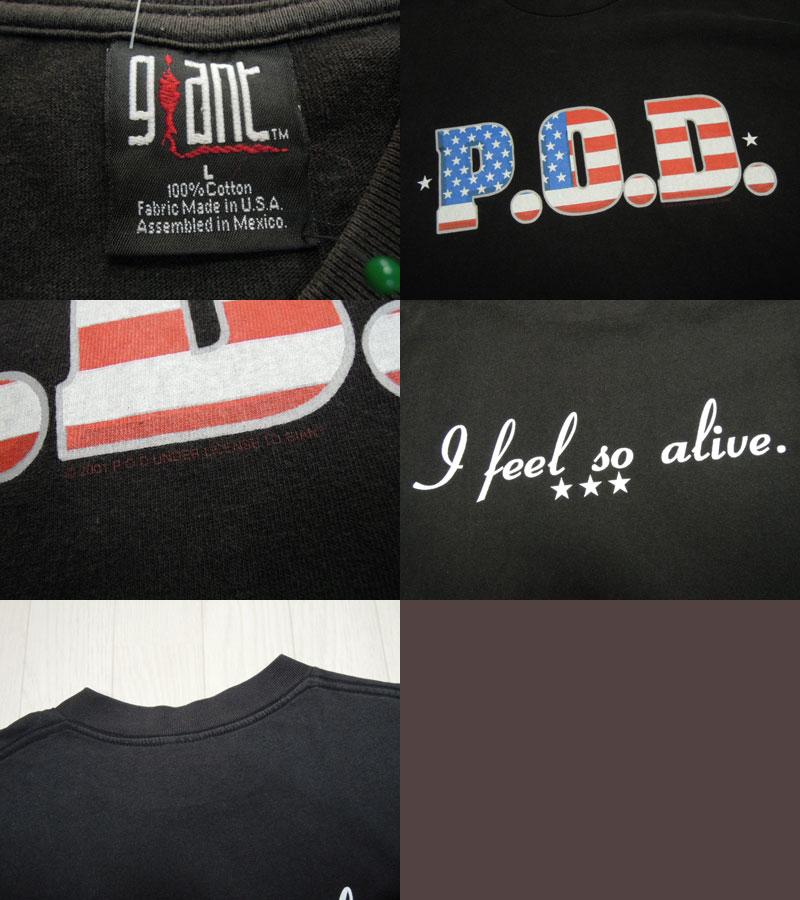 画像3: 00's P.O.D. Tシャツ/L
