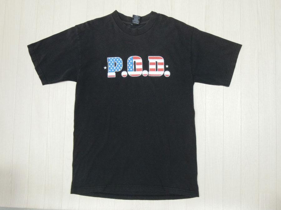 画像1: 00's P.O.D. Tシャツ/L
