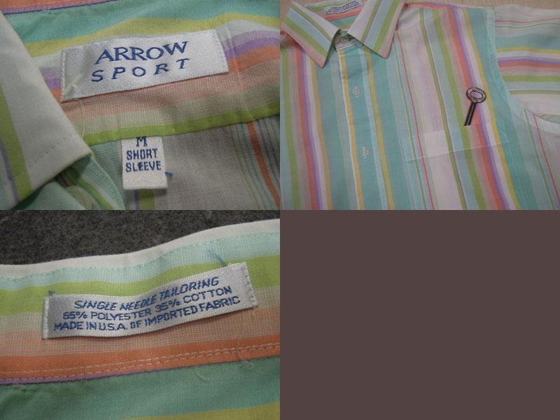 画像3: ARROW 半袖シャツ/M