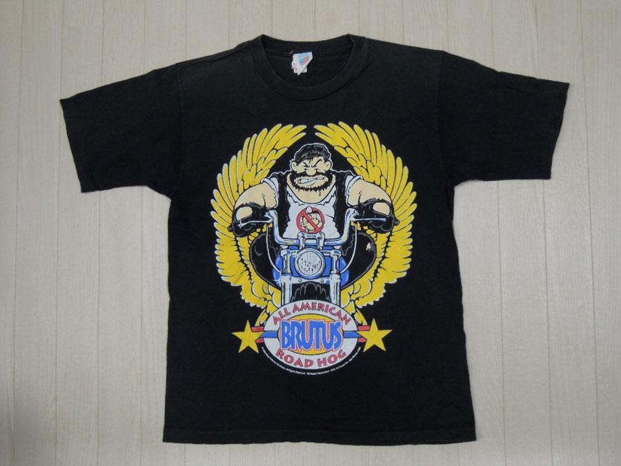 画像1: 90's CROCE Tシャツ/BRUTUS/M