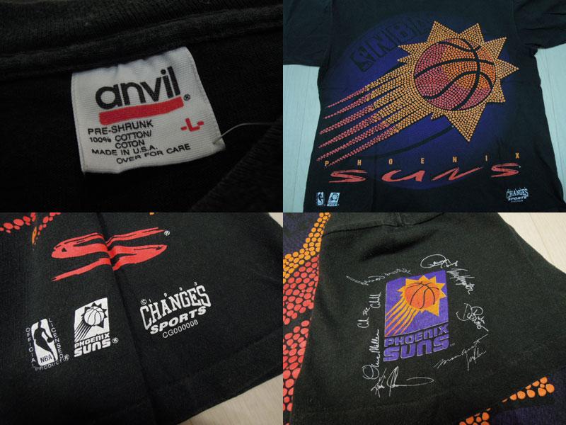 画像3: 90's anvil Tシャツ/NBA-SUNS/L
